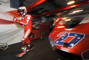 """MotoGP – Losail Gara – Casey Stoner: """"Peccato per la caduta ma non sono preoccupato"""""""