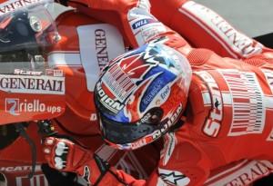 MotoGP – Jerez Prove Libere 1 – Stoner primo nonostante una scivolata