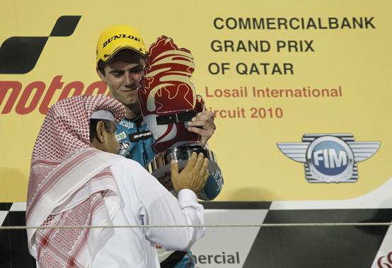 """125cc – Losail Gara – Nico Terol: """"Splendido iniziare con una vittoria"""""""