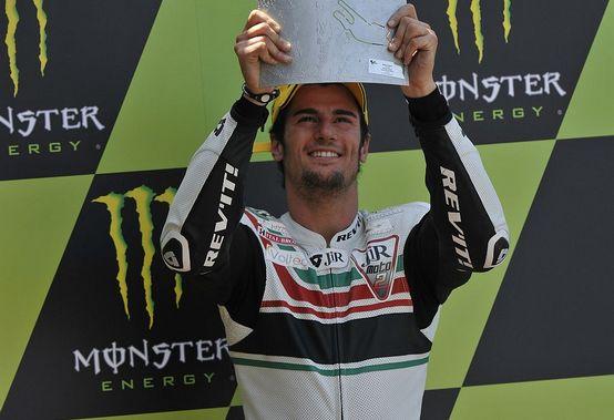 Moto2 – Le Mans Gara – Simone Corsi sale sul podio