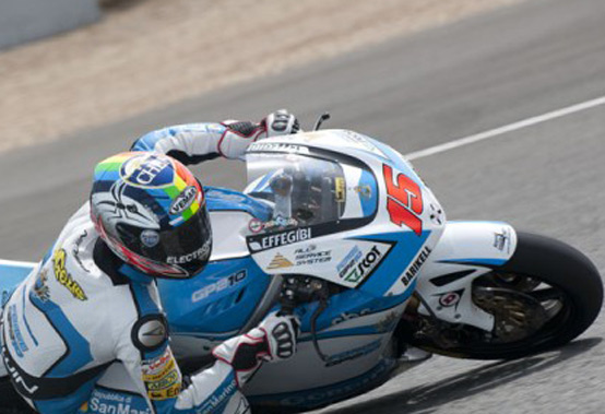 Moto2 – Test positivi a Misano per Alex De Angelis