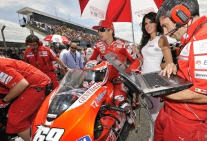 MotoGP – Jerez Gara – Nicky Hayden conquista il quarto posto