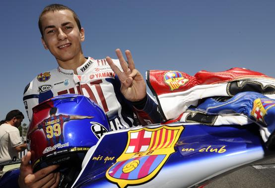 MotoGP – Jorge Lorenzo sarà sugli spalti del Camp Nou a tifare Barcellona