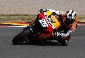 """MotoGP – Sachsenring Prove Libere 1 – Dani Pedrosa: """"E' bello essere davanti al venerdi"""""""