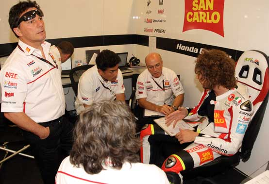 """MotoGP – Barcellona Prove Libere – Marco Simoncelli: """"Non sono riuscito ancora a trovare un buon feeling"""""""