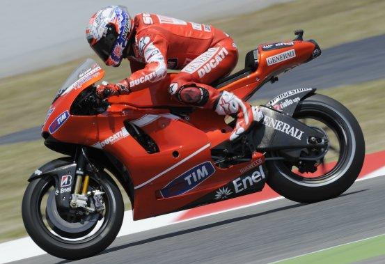 MotoGP – Barcellona Prove Libere – Casey Stoner è soddisfatto