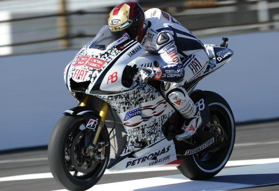 MotoGP – Indianapolis Warm up – Lorenzo precede Pedrosa e Spies