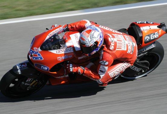 MotoGP – Indianapolis Qualifiche – Casey Stoner deluso del risultato