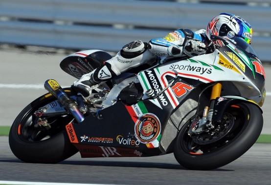 "Moto2 – Aragon – Alex De Angelis tradito dal ""chattering"""