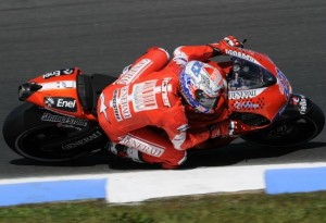 MotoGP – Phillip Island Qualifiche – Stoner in pole, Rossi in terza fila