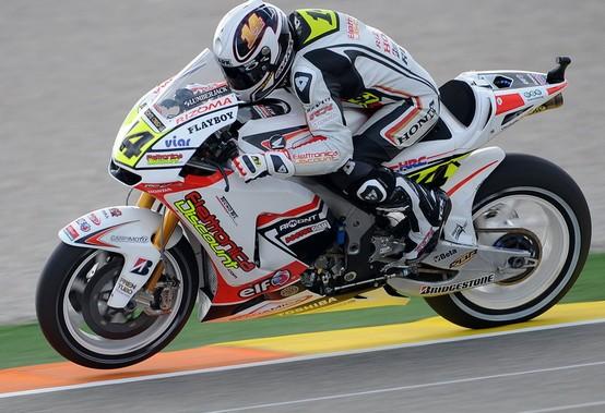 MotoGP – Valencia Prove Libere – Settimo tempo per Randy De Puniet