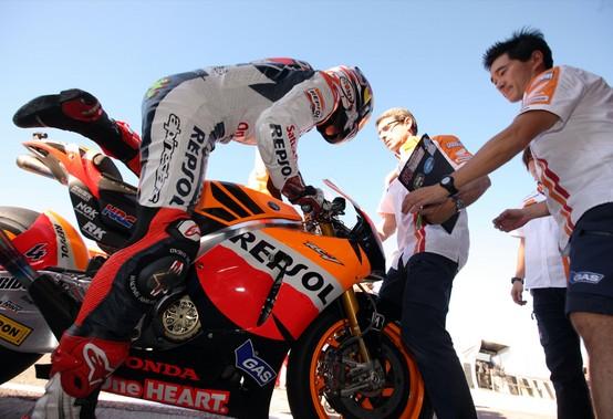 MotoGP – Test Valencia – Le prime impressioni di Pedrosa e Dovizioso