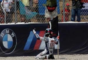 MotoGP – Jorge Lorenzo inaugura EICMA 2010