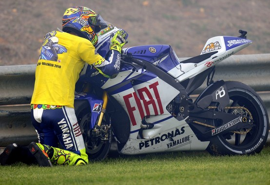 """MotoGP – Valencia – Valentino Rossi: """"Sono stati sette anni meravigliosi, ci siamo divertiti molto"""""""