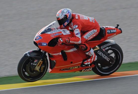 """MotoGP – Valencia Prove Libere – Casey Stoner: """"Giornata non male"""""""