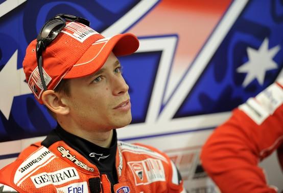 """MotoGP – Preview Valencia – Casey Stoner: """"Mi piacerebbe fare una bella gara"""""""
