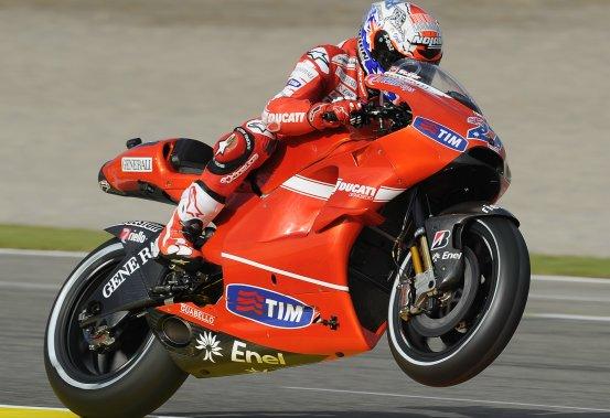 MotoGP – Valencia Qualifiche – Stoner lascia la Ducati con la pole
