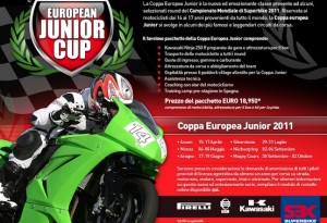 Superbike – Al via nel 2011 la European Junior Cup
