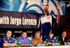 MotoGP – Jorge Lorenzo in tour in Indonesia