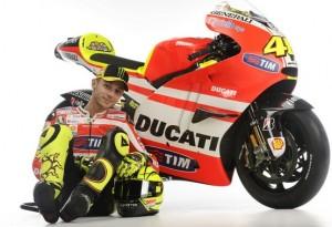 MotoGP – Svelata la Ducati Desmosedici di Valentino Rossi