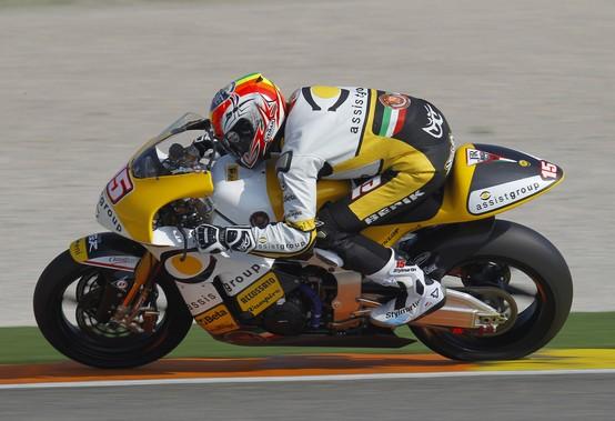 Moto2 – Test Valencia – Nuova livrea per Alex De Angelis