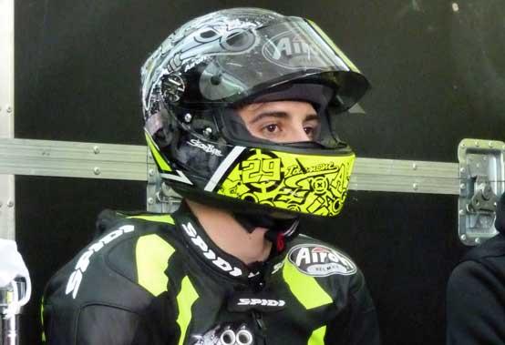 """Moto2 – Test Valencia Day 2 – Andrea Iannone: """"È andato tutto bene"""""""