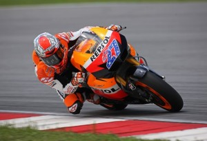 MotoGP – Test Sepang Day 1 – Alle 16 Stoner in testa, Rossi 5°