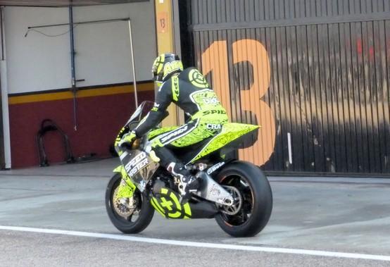 """Moto2 – Test Valencia – Andrea Iannone: """"Sono molto soddisfatto"""""""
