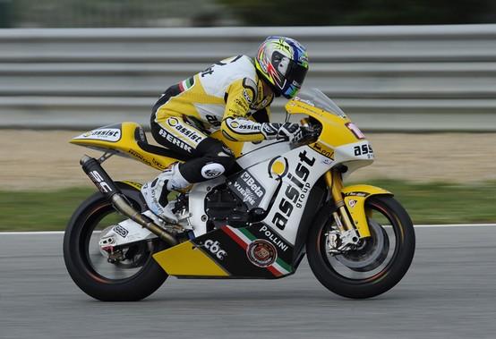 Moto2 Estoril, Qualifiche: Doppia caduta per Alex De Angelis