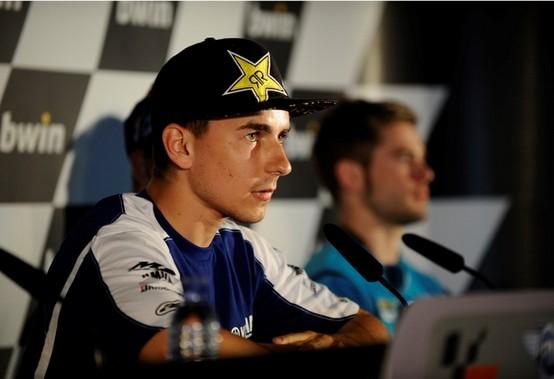 MotoGP: Scintille anche tra Lorenzo e Simoncelli