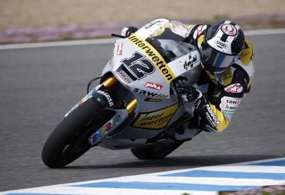 Moto2 – Jerez Prove libere 1 – Luthi al comando, seguono Bradl e De Angelis