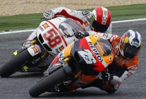 """MotoGP Estoril, Dani Pedrosa: """"Soddisfatto della prima fila"""""""