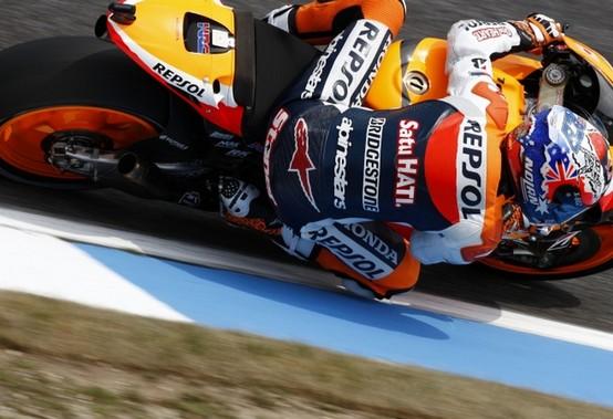 "MotoGP Estoril, Qualifiche: Casey Stoner ""Dovremmo andar bene in gara"""