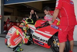 MotoGP: Rossi al Mugello con la Ducati 1000 GP12