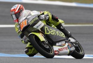 125cc Estoril, Warm Up: Terol detta legge