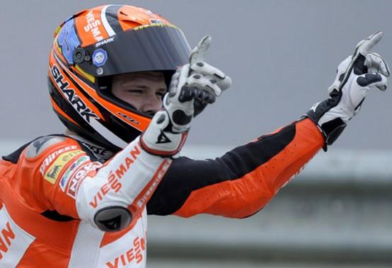 Moto2 Silverstone: Vince Bradl, cade Pasini quando era in testa