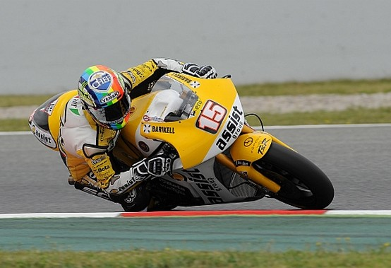 Moto2 Barcellona: Qualifiche deludenti per Alex de Angelis