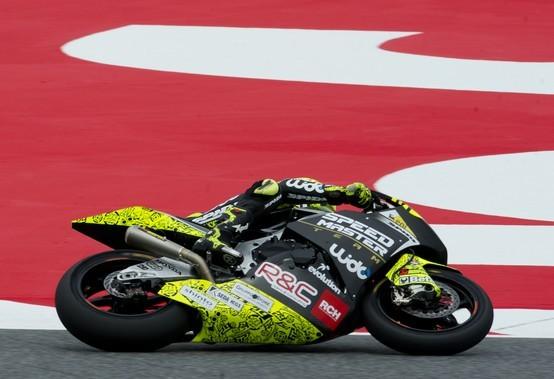 """Moto2 Barcellona: Iannone """"Sono molto dispiaciuto"""""""