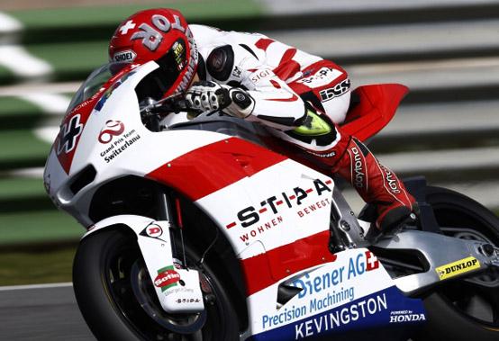 Moto2 Silverstone, Prove Libere 2: Krummenacher davanti a Marquez