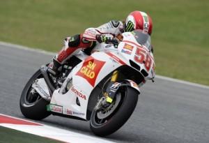 """MotoGP Barcellona: Simoncelli """"Dio Bo' ho fatto la pole"""""""