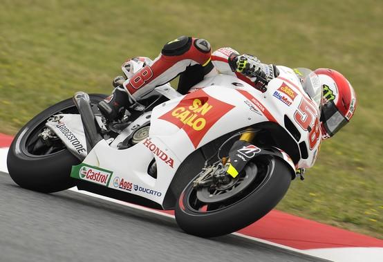 """MotoGP Barcellona, Prove Libere: Marco Simoncelli """"Stoner è leggermente più veloce ma noi siamo vicini"""""""