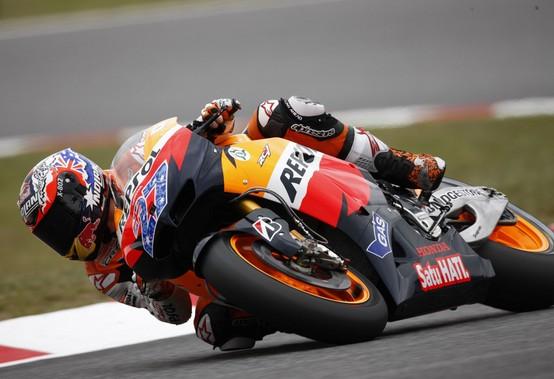 """MotoGP Barcellona, Qualifiche: Casey Stoner """"Deluso di aver perso la pole"""""""