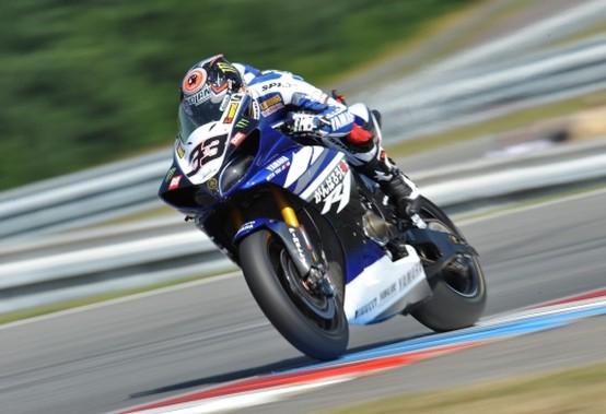 Superbike Brno Gara 1: Melandri batte Biaggi e Checa
