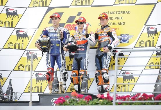 MotoGP Sachsenring: Report Bridgestone