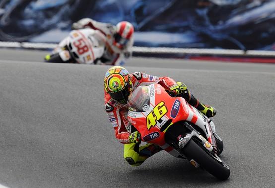 """MotoGP Laguna Seca, Prove Libere: Valentino Rossi """"Serve più grip al posteriore"""""""