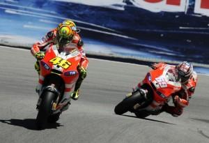 """MotoGP Laguna Seca: Valentino Rossi """"Perdiamo troppo a centro curva"""""""