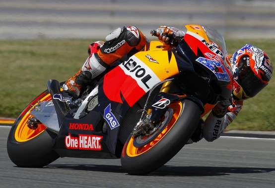 "MotoGP Sachsenring, Prove Libere: Casey Stoner ""Non sono troppo contento"""