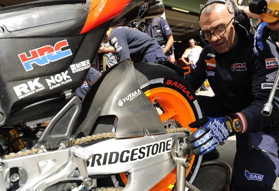 MotoGP: A Indianapolis la Bridgestone porta l'extra dura posteriore