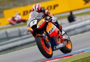 Moto2 Brno, Warm Up: Marquez al comando