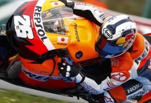 MotoGP Brno, Warm Up: Domina Pedrosa, Rossi undicesimo